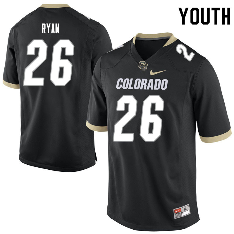 Youth #26 Matthew Ryan Colorado Buffaloes College Football Jerseys Sale-Black